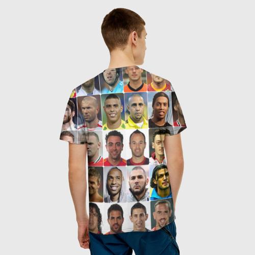 Мужская футболка 3D  Фото 02, Андреа Пирло - лучший