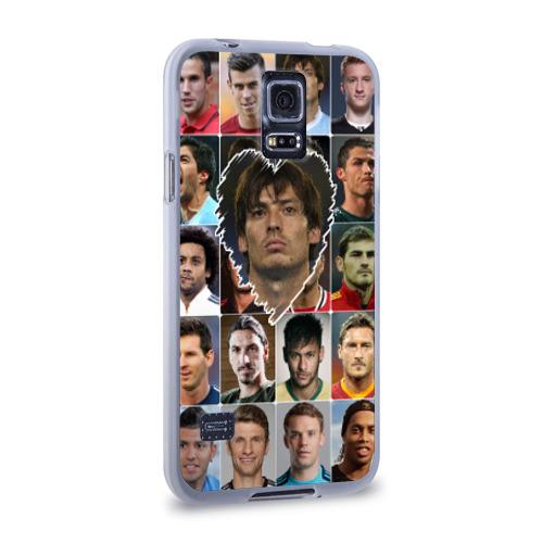 Чехол для Samsung Galaxy S5 силиконовый  Фото 02, Давид Сильва - лучший