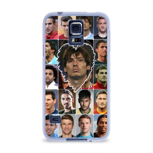 Чехол для Samsung Galaxy S5 силиконовый  Фото 01, Давид Сильва - лучший