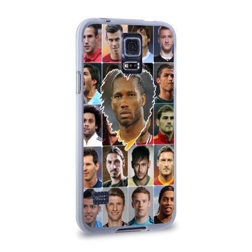 Чехол для Samsung Galaxy S5 силиконовый  Фото 02, Дидье Дрогба - лучший