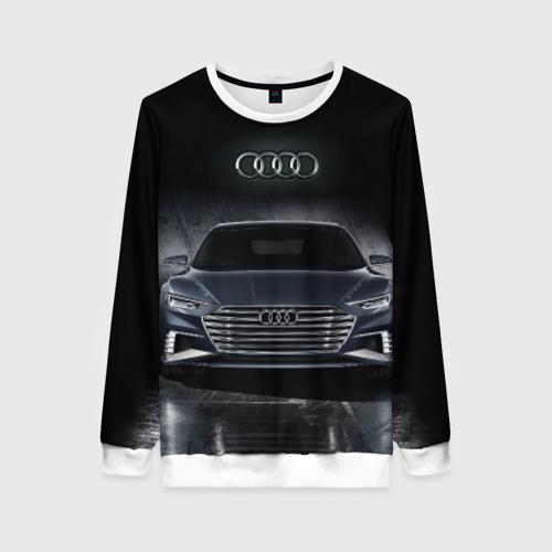 Женский свитшот 3D Audi Фото 01