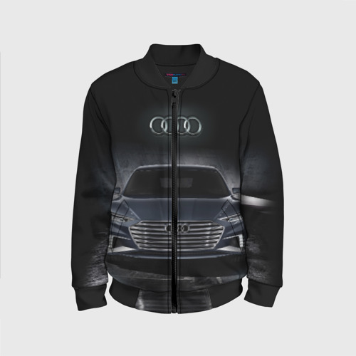 Детский бомбер 3D Audi