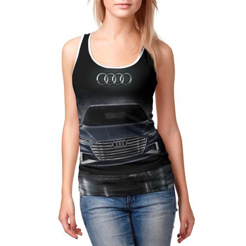 Женская майка 3D  Фото 03, Audi