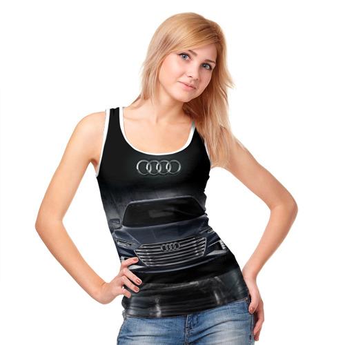 Женская майка 3D  Фото 05, Audi
