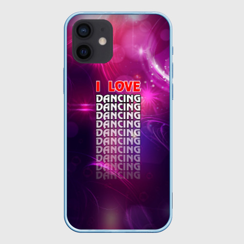 Чехол для iPhone 12 Pro Mini I love dancing (Я люблю танцы) Фото 01