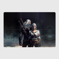 Geralt and Ciri - интернет магазин Futbolkaa.ru