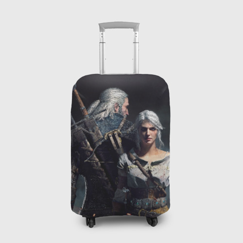 Чехол для чемодана 3D  Фото 01, Geralt and Ciri