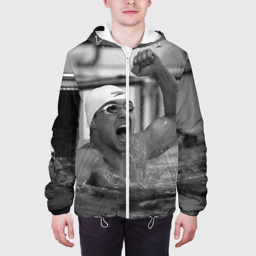 Мужская куртка 3D  Фото 04, Пловец