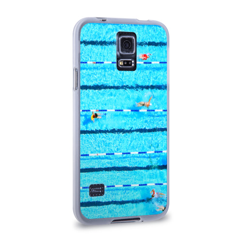 Чехол для Samsung Galaxy S5 силиконовый  Фото 02, Бассейн