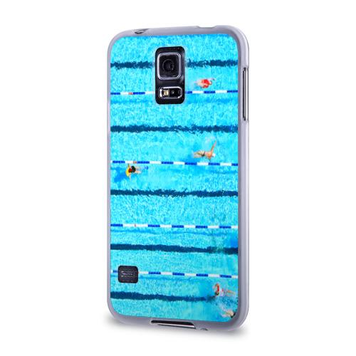 Чехол для Samsung Galaxy S5 силиконовый  Фото 03, Бассейн