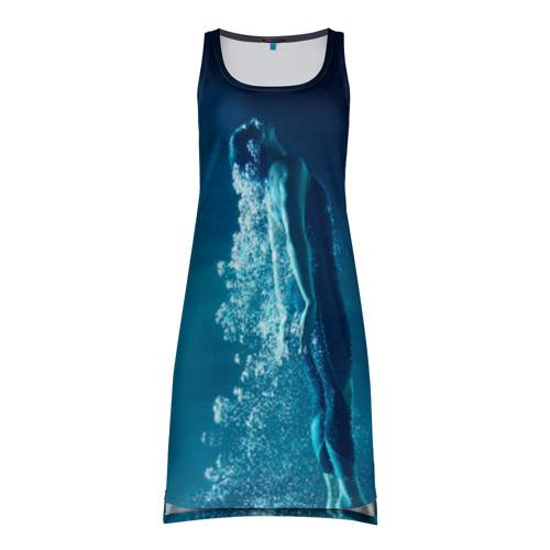 Платье-майка 3D Под водой