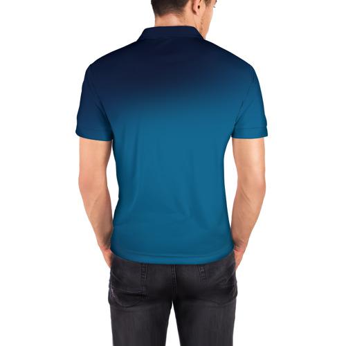 Мужская рубашка поло 3D  Фото 04, Под водой