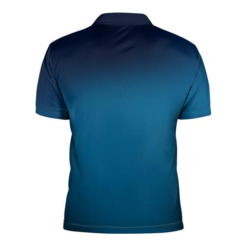 Мужская рубашка поло 3D  Фото 02, Под водой