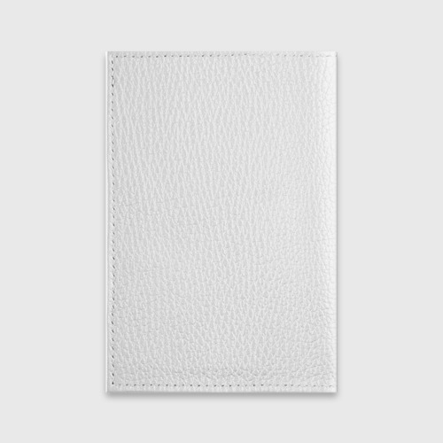Обложка для паспорта матовая кожа  Фото 02, Undertale Gaster Blaster