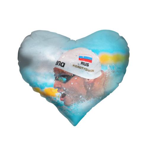 Подушка 3D сердце  Фото 01, Пловец