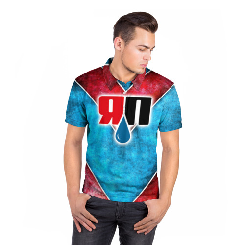 Мужская рубашка поло 3D  Фото 05, Яплакалъ