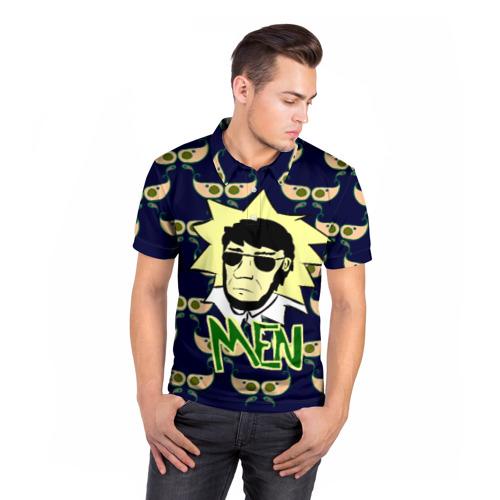 Мужская рубашка поло 3D  Фото 05, Men