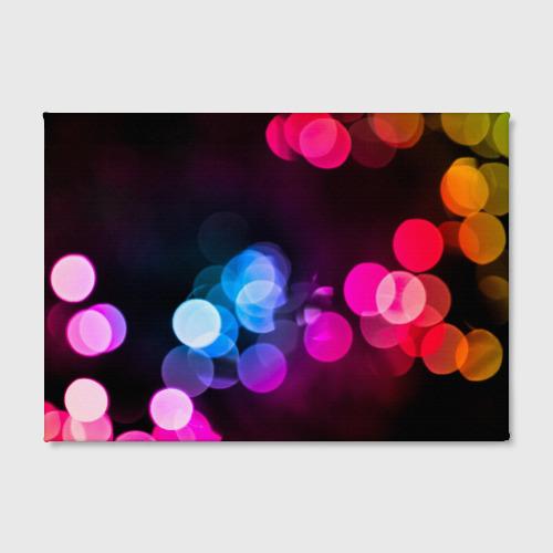 Холст прямоугольный  Фото 02, Light Spots