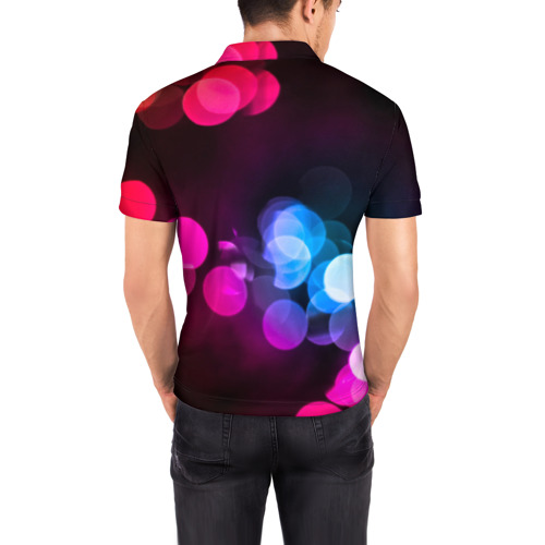 Мужская рубашка поло 3D  Фото 04, Light Spots