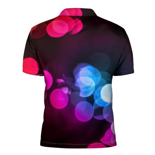 Мужская рубашка поло 3D  Фото 02, Light Spots