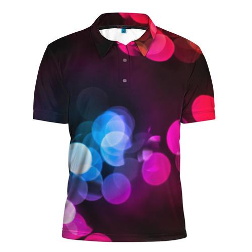 Мужская рубашка поло 3D  Фото 01, Light Spots
