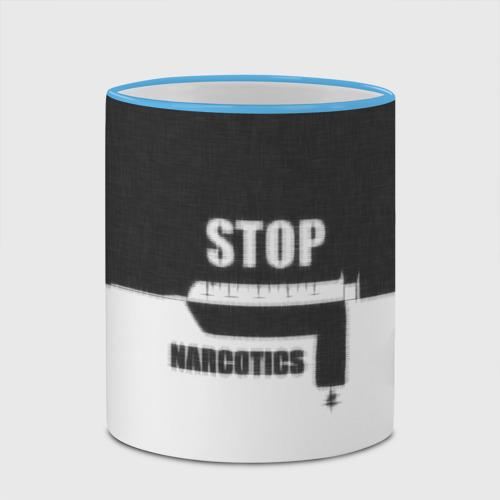 Кружка с полной запечаткой  Фото 03, Stop narcotics