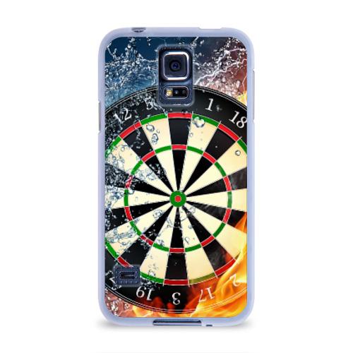 Чехол для Samsung Galaxy S5 силиконовый  Фото 01, Мишень для Дартс