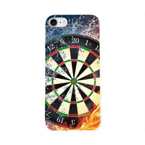 Чехол для Apple iPhone 8 силиконовый глянцевый  Фото 01, Мишень для Дартс