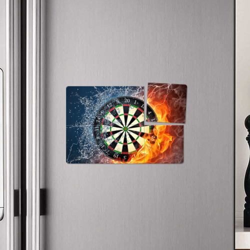 Магнитный плакат 3Х2 Мишень для Дартс Фото 01