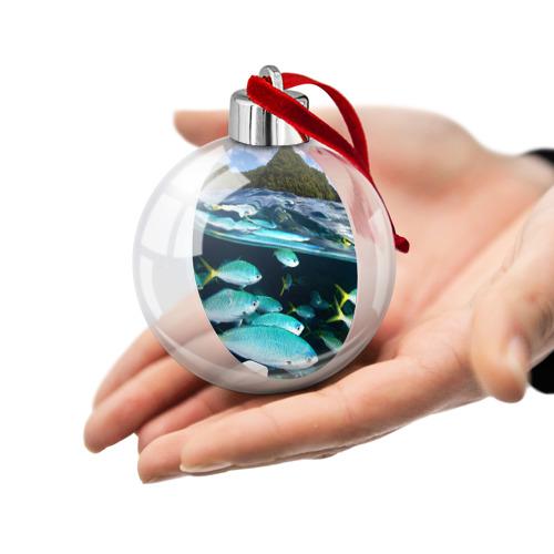 Ёлочный шар  Фото 02, Подводный мир