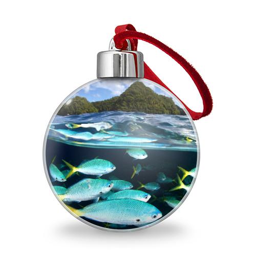 Ёлочный шар  Фото 01, Подводный мир