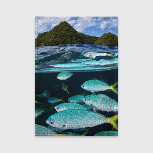 Обложка для автодокументов  Фото 02, Подводный мир
