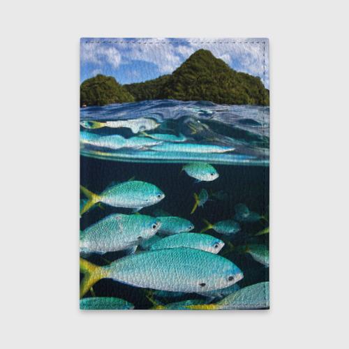 Обложка для автодокументов  Фото 01, Подводный мир