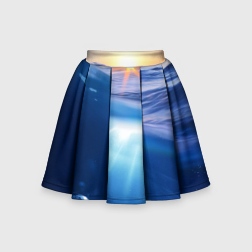 Детская юбка-солнце 3D Под водой