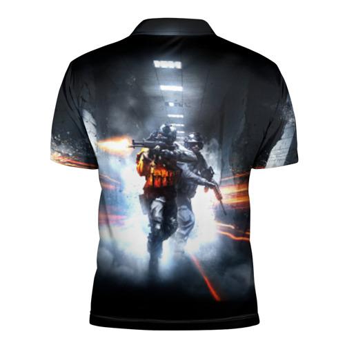 Мужская рубашка поло 3D  Фото 02, Battlefield Hardline