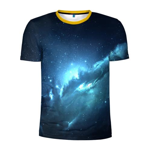 Мужская футболка 3D спортивная Atlantis Nebula