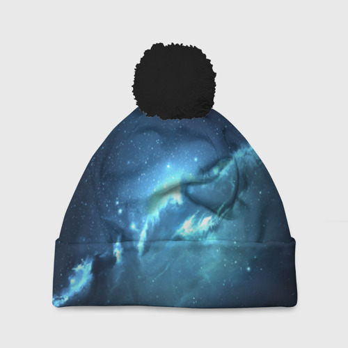 Шапка 3D c помпоном Atlantis Nebula