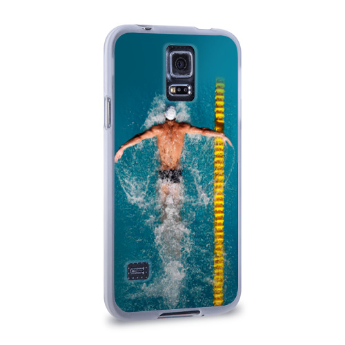 Чехол для Samsung Galaxy S5 силиконовый  Фото 02, Баттерфляй
