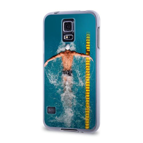 Чехол для Samsung Galaxy S5 силиконовый  Фото 03, Баттерфляй