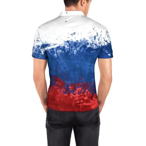 Мужская рубашка поло 3D  Фото 04, Акула