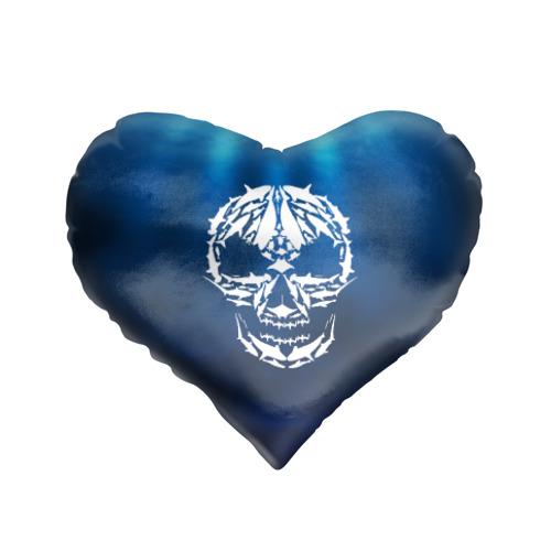 Подушка 3D сердце  Фото 01, Череп