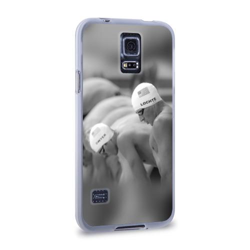 Чехол для Samsung Galaxy S5 силиконовый  Фото 02, Пловцы