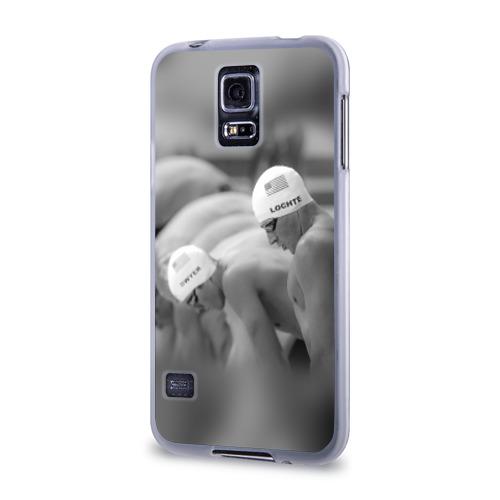 Чехол для Samsung Galaxy S5 силиконовый  Фото 03, Пловцы