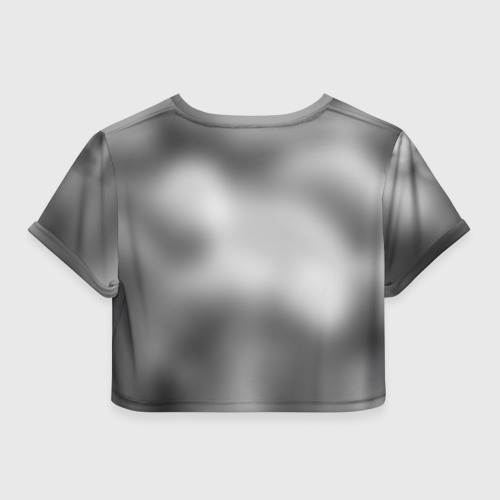 Женская футболка 3D укороченная  Фото 02, Пловцы