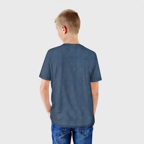 Детская футболка 3D  Фото 02, Джинсовка