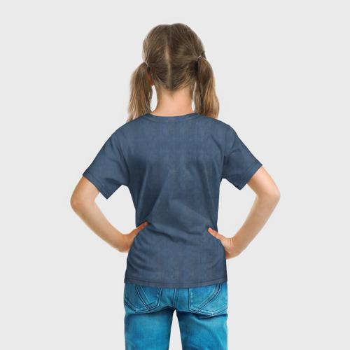 Детская футболка 3D  Фото 04, Джинсовка