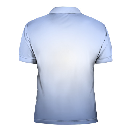 Мужская рубашка поло 3D  Фото 02, Бабочки