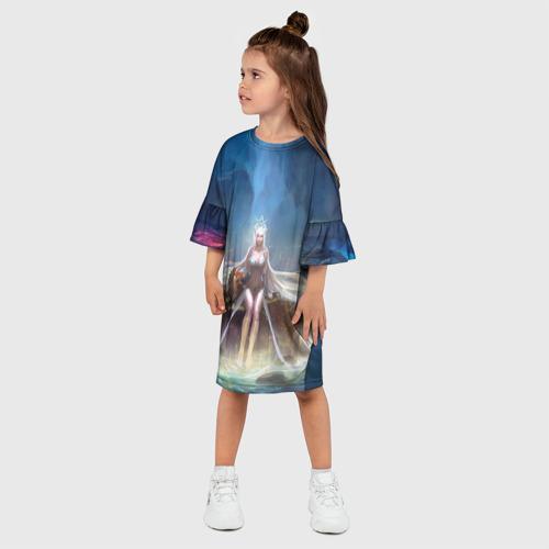 Детское платье 3D League of Legends Фото 01