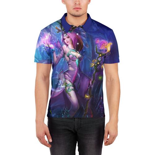 Мужская рубашка поло 3D  Фото 03, League of Legends