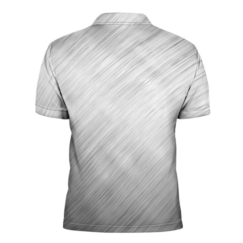 Мужская рубашка поло 3D  Фото 02, Александр - имя металл